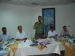 Belediye personelinde iftar coşkusu