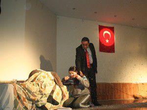 Beyşehirde Ali Arslan adlı tiyatro