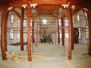 Kışla Saray Camii restorasyonunda sona gelindi