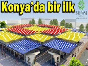 Konyanın ilk organik pazarı Merama