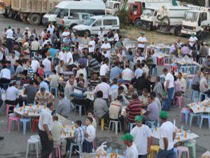 Meram Belediyesinden çalışanlarına iftar
