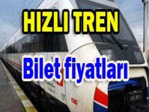 Konya hızlı tren fiyatları