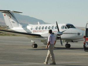 Hırsıza özel ambulans uçak