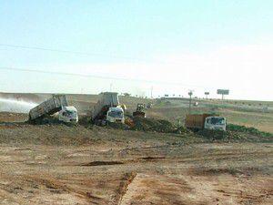 Kulu Makas Köprülü Kavşak inşaatı sürüyor