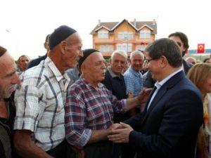 Dışişleri Bakanı Ahmet Davutoğlu Kosovada