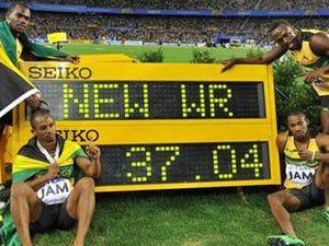 Hüseyin Boltt rekoru kırdı