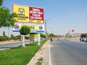 Karapınar-Ereğli yolunun çehresi değişiyor