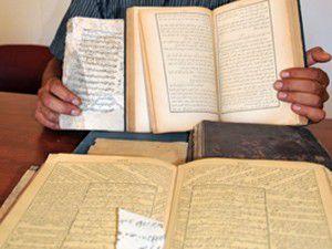 Konyada tarihi kitaplar çöplükten çıktı