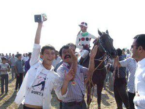 Tuzlukçuda at yarışları düzenlendi