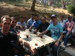 Erkuş Döküm ailesi piknikte buluştu