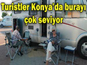 Konyada turistlerin en gözde yeri