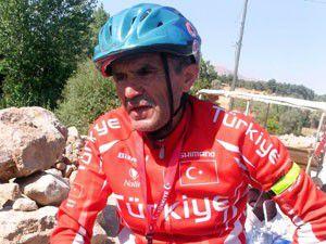 66 yaşındaki bisikletçi Konyada mola verdi