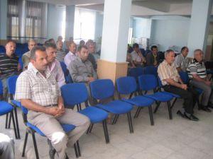 Ereğlide servis sürücülerine eğitim semineri