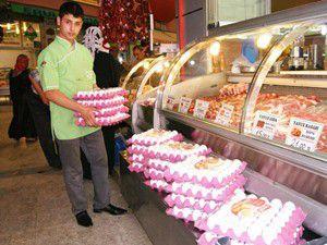 Yumurta fiyatları tavan yaptı!