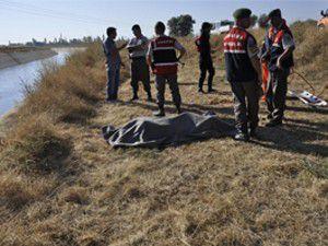 Konyadaki sulama kanalında ölüm!