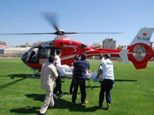 Epilepsi hastası Konyaya sevk edildi