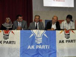 AK Parti Seydişehirde meclis toplantısı