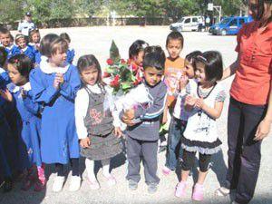 Altınekinde İlköğretim haftası kutlamaları