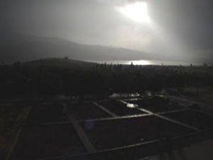 Halkapınarda sağanak yağış