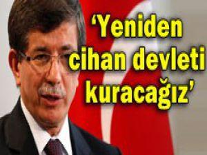 Davutoğlu Sivas Kongresinde konuştu
