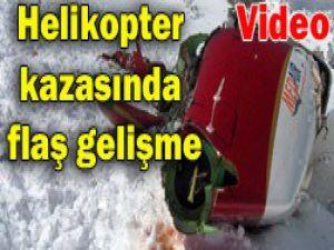 Yazıcıoğlu kazasında yeni görüntüler