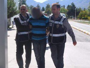 Konyada cinayet şüphelileri adliyeye sevk edildi