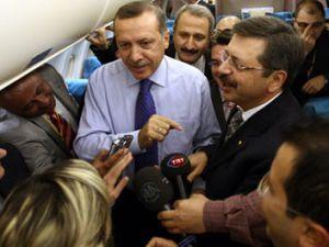 Erdoğan muhalefete uçaktan yüklendi