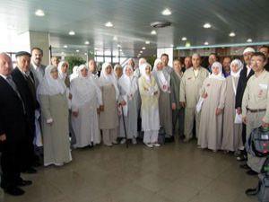 Akşehirde kutsal topraklara yolculuk sona eriyor