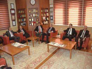 Atina Büyükelçisi oda başkanlarıyla biraraya geldi