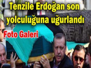 Erdoğanın annesi toprağa verildi