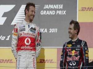 Japonyada Button kazandı Vettel Şampiyon oldu
