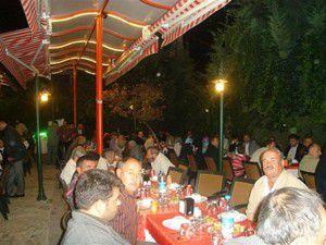 AK Parti Meram mahalle temsilcileriyle bir arada