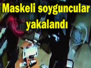 Konyadaki soyguncular yakalandı