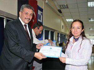 Konya SMMMOda sertifika töreni