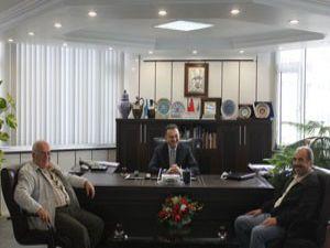 İsmail Üzmez Başkan Taşcıyı ziyaret etti
