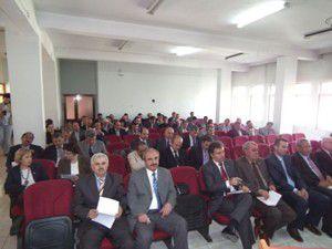 Akşehirde müdürler toplantısı yapıldı