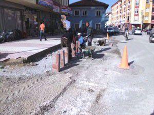 Ereğlide asfaltlama çalışmaları