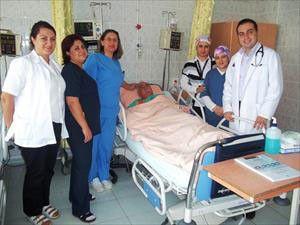 Aksarayda ilk defa bir hastaya kalp pili takıldı