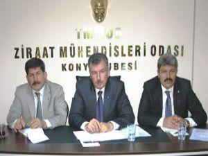 ZMO Konya Şubesinde istişare toplantısı