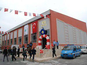 Karma İlköğretim okulu Spor Salonu törenle açıldı