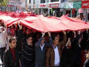 Konya tek yürek PKKyı lanetledi
