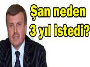 Başkan Şan ilk konuşmasını yaptı
