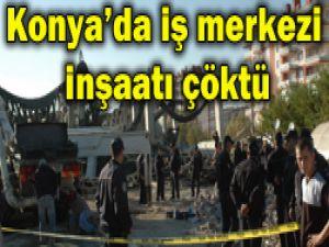 Konyada inşaat çöktü: 6 yaralı