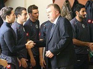 Başkan Şan futbolculara güven verdi