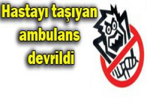 Konyada ambulans devrildi: 1 ölü