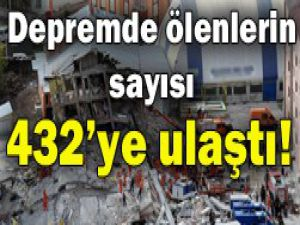 Depremde ölü sayısı giderek artıyor