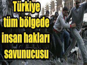 Türkiye şu anda tartışmasız bir bölgesel güç
