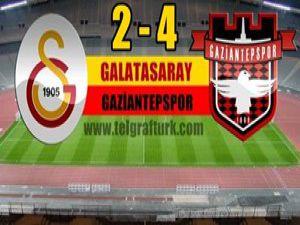 G.Saray, Gaziantepspora yenildi