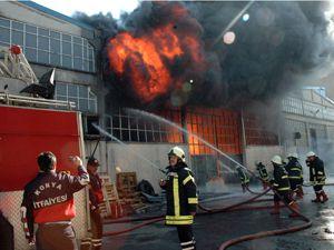 Konya Büsanda yangın