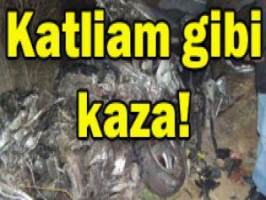 Konyada feci kaza: 5 ölü